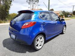 2008 Mazda 2 Genki DE Series 1 Aurora Blue