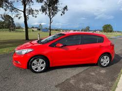 2015 Kia Cerato S YD MY16 Red