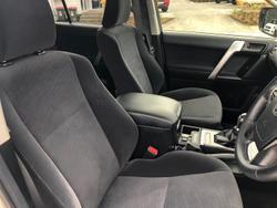 2017 Toyota Landcruiser Prado GXL GDJ150R 4X4 Dual Range Silver Pearl