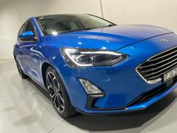 2019 Ford Focus Titanium SA MY20.25 Blue
