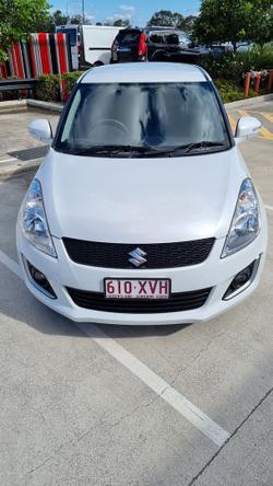 2014 Suzuki Swift GL Navigator FZ MY14 Snow White
