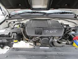 2007 Toyota Landcruiser Prado GXL KDJ120R 4X4 Constant White