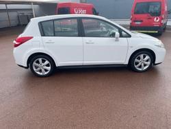 2012 Nissan Tiida ST C11 S3 Polar White