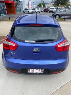 2014 Kia Rio S UB MY14 Electric Blue