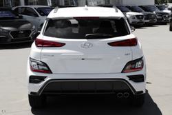 2021 Hyundai Kona N-Line Premium OS.V4 MY21 AWD Atlas White