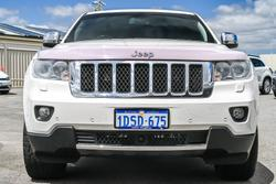 2011 Jeep Grand Cherokee Overland WK MY11 4X4 Constant Stone White