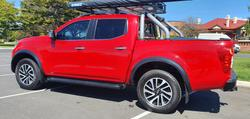 2015 Nissan Navara ST-X D23 4X4 Dual Range Burning Red