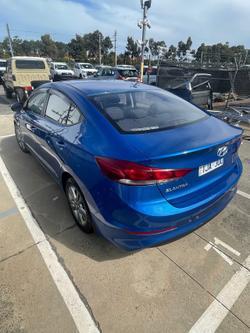 2017 Hyundai Elantra Active AD MY17 Blue