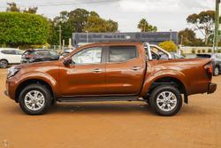 2021 Nissan Navara ST D23 4X4 Dual Range Orange