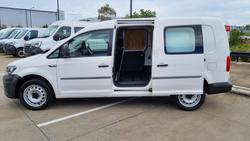 2018 Volkswagen Caddy TSI220 2KN MY19 Candy White