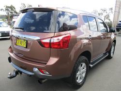 2014 Isuzu MU-X LS-T MY14 4X4 Dual Range Outback Bronze