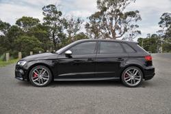 2017 Audi S3 8V MY17 Four Wheel Drive Black