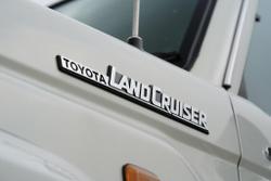 2016 Toyota Landcruiser GXL VDJ79R 4X4 Dual Range French Vanilla