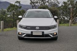 2017 Volkswagen Passat 140TDI Alltrack B8 MY18 Four Wheel Drive Pure White