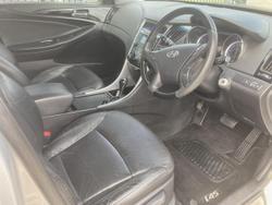 2010 Hyundai i45 2010 HYUNDAI i45 ELITE AUTO 4D SEDAN 4CYL SLEEKSILVER