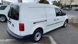 2018 Volkswagen Caddy TDI250 2KN MY18 Candy White