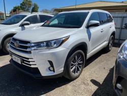 2018 Toyota Kluger GXL GSU55R AWD White