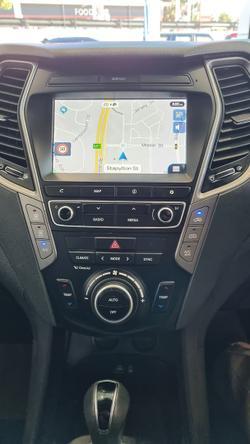 2015 Hyundai Santa Fe Elite DM2 MY15 4X4 On Demand Creamy White