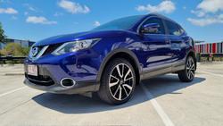 2016 Nissan QASHQAI Ti J11 Ink Blue