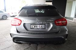 2014 Mercedes-Benz GLA-Class GLA45 AMG X156 Four Wheel Drive Mountain Grey