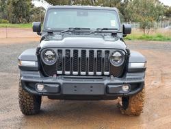 2021 Jeep Gladiator Rubicon JT MY21 V2 4X4 On Demand Black