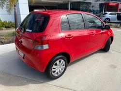 2011 Toyota Yaris YR NCP90R MY11 Cherry