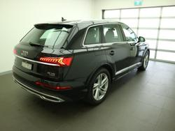 2020 Audi Q7 45 TDI 4M MY20 Four Wheel Drive Orca Black