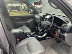 2008 Toyota Landcruiser Prado Grande GRJ120R 4X4 Constant Charcoal Grey