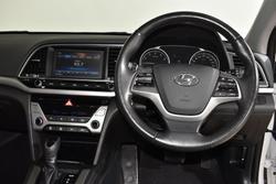 2018 Hyundai Elantra Elite AD MY18 Polar White