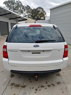 2005 Ford Territory TS SX AWD Winter White