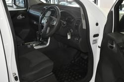2012 Nissan Navara ST D40 Series 6 4X4 White