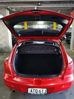 2005 Mazda 3 Maxx Sport BK Series 1 Velocity Red