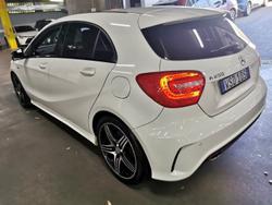2013 Mercedes-Benz A-Class A250 Sport W176 Cirrus White