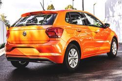 2021 Volkswagen Polo 85TSI Comfortline AW MY21 Energetic Orange