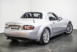 2006 Mazda MX-5 Roadster Coupe NC Series 1 MY07 Sunlight Silver