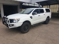 2013 Ford Ranger XL PX 4X4 Dual Range Cool White