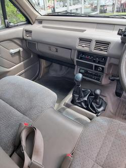 1996 Holden Rodeo LX TF G6 4X4 WHITE