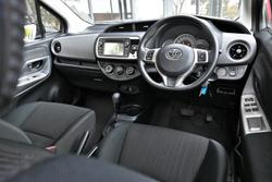 2015 Toyota Yaris Ascent NCP130R Blue
