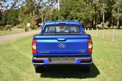 2021 LDV T60 PRO SK8C 4X4 Dual Range Drive Type: Jewel Blue