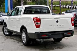 2021 SsangYong Musso ELX Q201 MY20.5 4X4 Dual Range Drive Type: Grand White