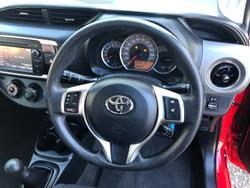 2015 Toyota Yaris Ascent NCP130R Cherry