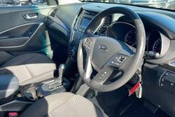 2013 Hyundai Santa Fe Active DM MY13 4X4 On Demand White