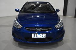 2015 Hyundai Accent Active RB2 MY15 Dazzling Blue