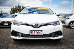 2016 Toyota COROLLA Corolla Ascent 1.8L Petrol CVT 5 Door Hatch 4E67940 001 Glacier White