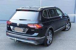 2018 Volkswagen Tiguan 162TSI Highline Allspace 5N MY18 Four Wheel Drive Deep Black