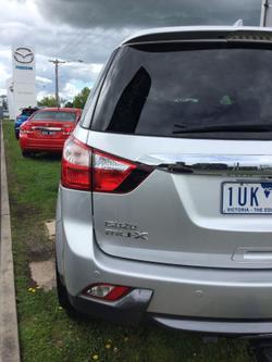 2014 Isuzu MU-X LS-T MY14 4X4 Dual Range Silver