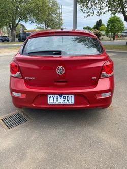 2012 Holden Cruze CD JH Series II MY12 Maroon