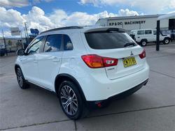 2017 MITSUBISHI ASX LS (2WD) XC MY17 White