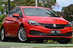 2017 Holden Astra R BK MY17 Absolute Red