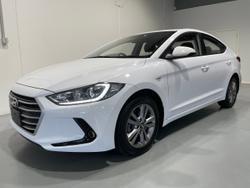 2017 Hyundai Elantra Active AD MY17 White